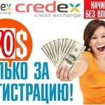 Проект Credex.biz запущен!
